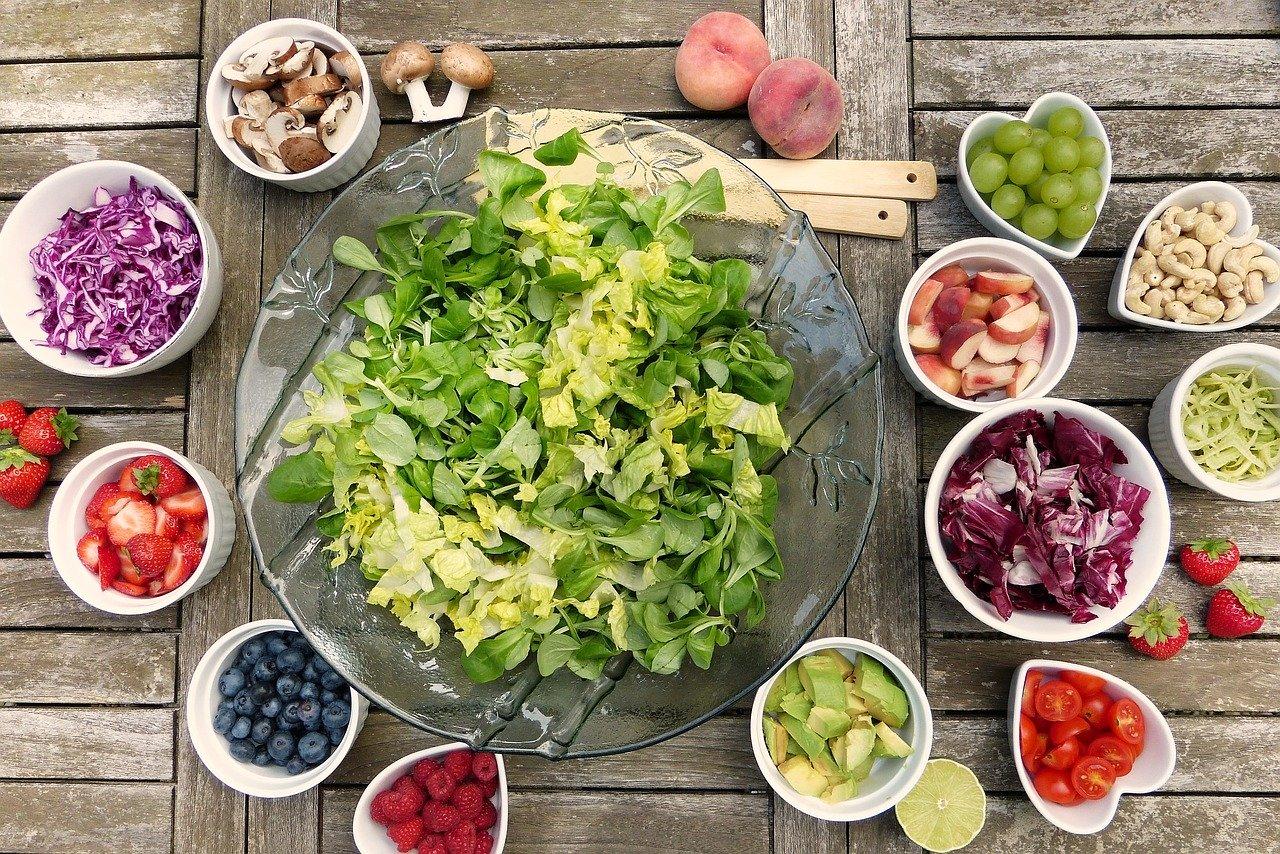 Ausgewogene Ernährung 1800 kcal
